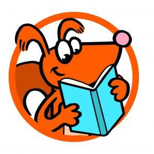 eekhoorntje Bart leest