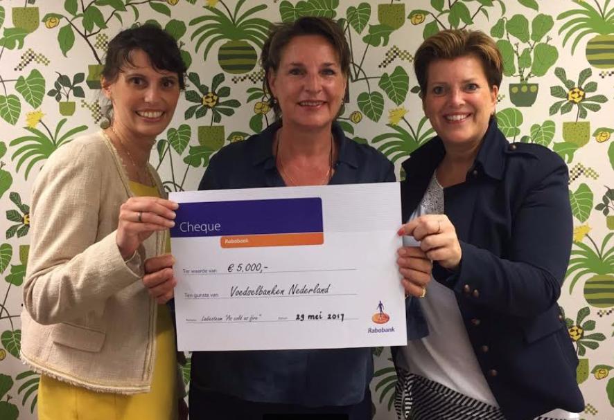 Cheque-Voedselbanken-Rabobank-Rally-Noordkaap
