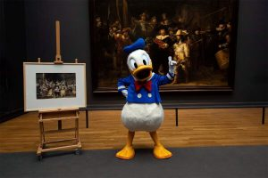 Donald Duck in Rijksmuseum