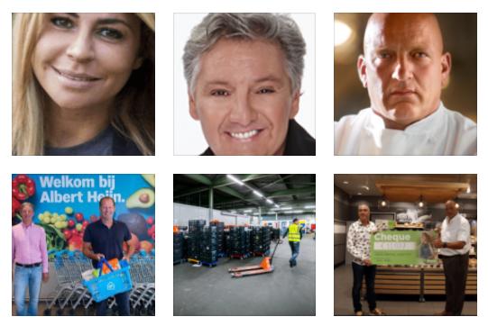Ambassadeurs voedselbanken Nederland